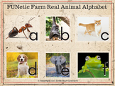 "FUNetic Farm ""Real"" Animal Alphabet Flashcards (Photos)"