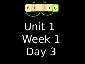 FUNdational FUNics Level 2 Unit 1 Week 1 Day 3