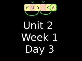 FUNdational FUNics Level 2 Unit 2 Week 1 Day 3