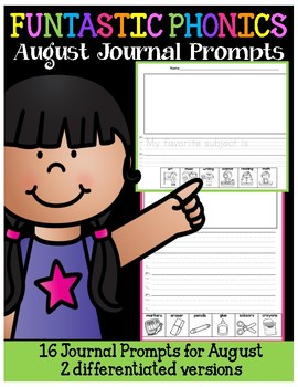 FUNtastic August Journal Prompts