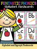 FUNtastic FUNdational Alphabet Flashcards Striped Version