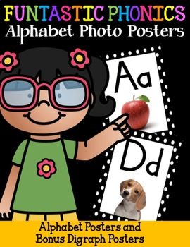 FUNtastic FUNdational Alphabet Photo Posters