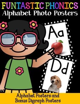 FUNtastic FUNdational Alphabet Photo Posters