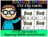 FUNtastic FUNdational CVC Clip Cards