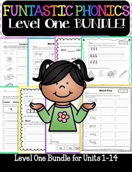 FUNtastic FUNdational Level 1 Bundle Unit 1-14