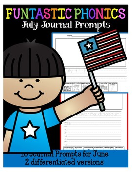 FUNtastic July Journal Prompts