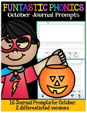 FUNtastic October Journal Prompts