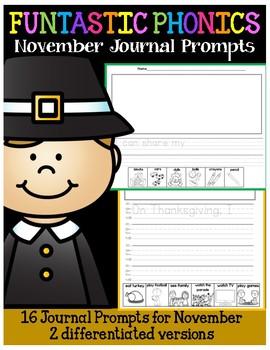 FUNtastic November Journal Prompts