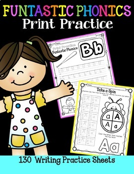 FUNtastic  Phonics Print Practice for Fundations