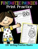 FUNtastic FUNdational Phonics Print Practice