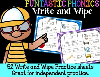 FUNtastic  Phonics Write and Wipe