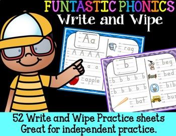 FUNtastic FUNdational Phonics Write and Wipe