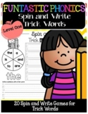 FUNtastic Spin and Write Trick Words for Level One