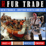 Fur Trade North America Mega Bundle / GOOGLE / EDITABLE / Age of Exploration