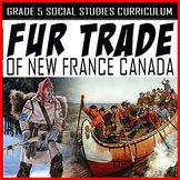 Fur Trade North America Mega Bundle / GOOGLE / EDITABLE / Age of Exploration