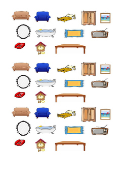 FURNITURE AND PREPOSITION