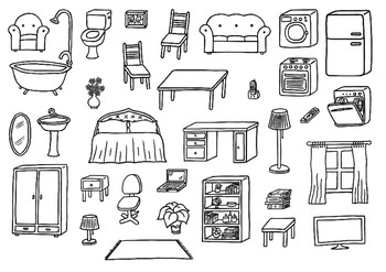 Furniture and prepositions the house worksheet by esl for Furniture quiz questions
