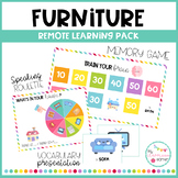 FURNITURE - Remote learning pack