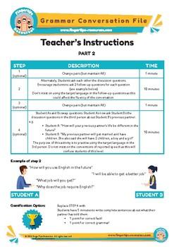 FUTURE SIMPLE  - English Grammar Speaking Activity