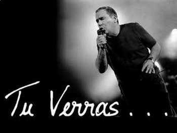 """FUTURE TENSE. Song """"Tu verras"""" Claude Nougaro"""