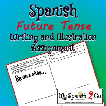 FUTURE TENSE: Writing and Illustration Assignment