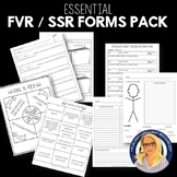 FVR / SSR / Free Reading Forms and Activities Pack