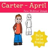 Fa La La Fridays Carter