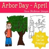 Fa La La Fridays Carter on Arbor Day