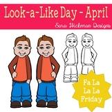 Fa La La Fridays Carter on Look a Like Day
