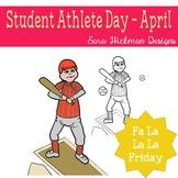Fa La La Fridays Carter on National Student Athlete Day