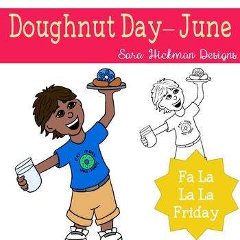 Fa La La Fridays Doughnut Day