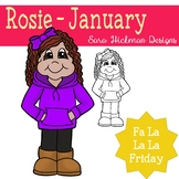 Fa La La Fridays - Rosie for January