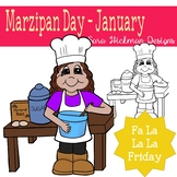 Fa La La Fridays Rosie on Marzipan Day