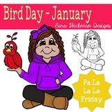 Fa La La Fridays Rosie on National Bird Day