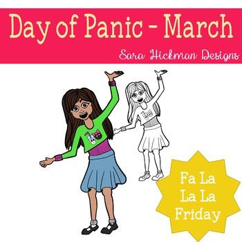 Fa La La Fridays Sandy on Day of Panic