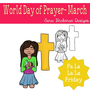 Fa La La Fridays Sandy on World Day of Prayer
