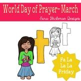 Fa La La Fridays Sandy on World Day of Prayer