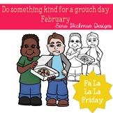 Fa La La Fridays Shawn on Do Something Kind for a Grouch