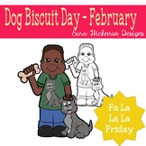 Fa La La Fridays Shawn on Dog Biscuit Day