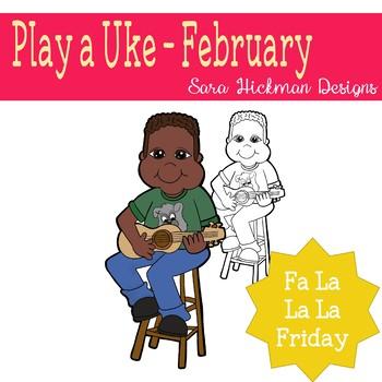 Fa La La Fridays Shawn on Play a Uke Day