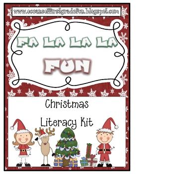 Fa La La La Christmas Fun Literacy Pack