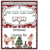 Fa La La La Christmas Fun Literacy Pack