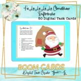 Fa La La La La Christmas Inferences SLP BOOM Cards – Speech Therapy Distance