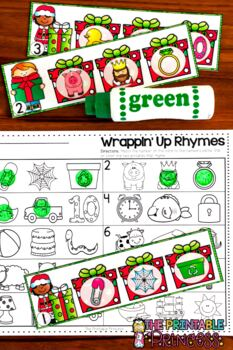 Christmas Activities and Centers for Kindergarten