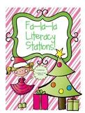 Fa-La-La Literacy Stations {5 CCSS aligned holiday activities!!}
