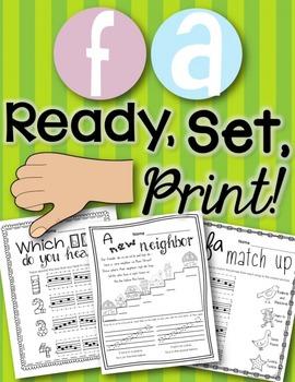 Fa {Ready Set Print!}