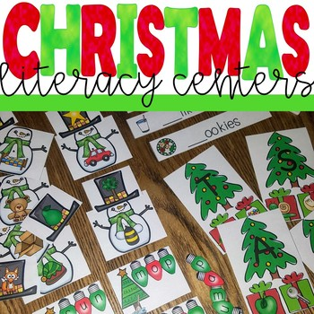 Christmas themed Literacy Activities