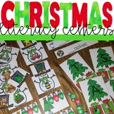 Christmas Literacy Center Activities