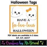 FaBOOlous Halloween Labels | Halloween Tags