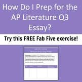 Fab Five Literary Works - Review for the AP Literature Exa